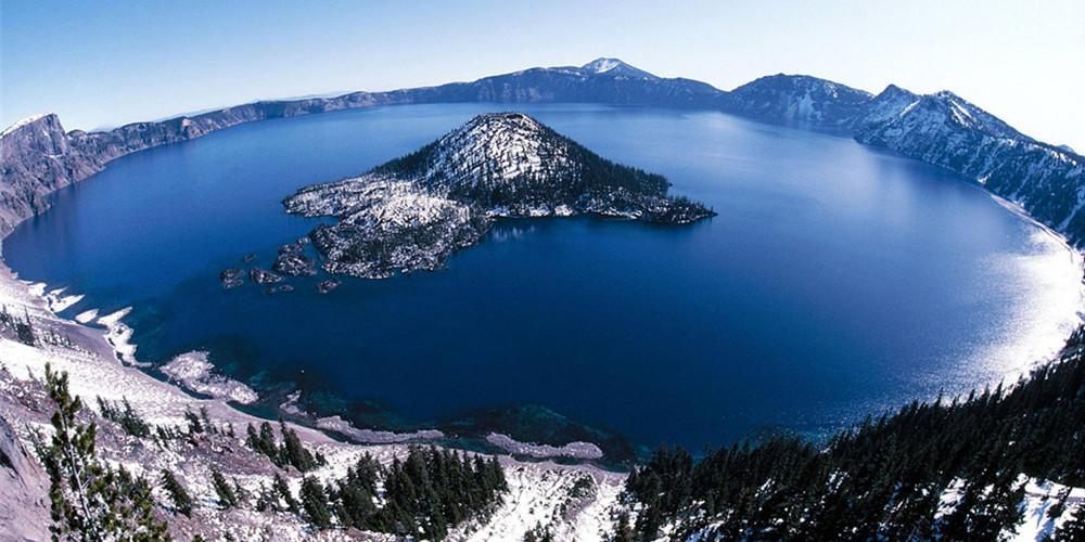 Crator Lake火山湖国家公园