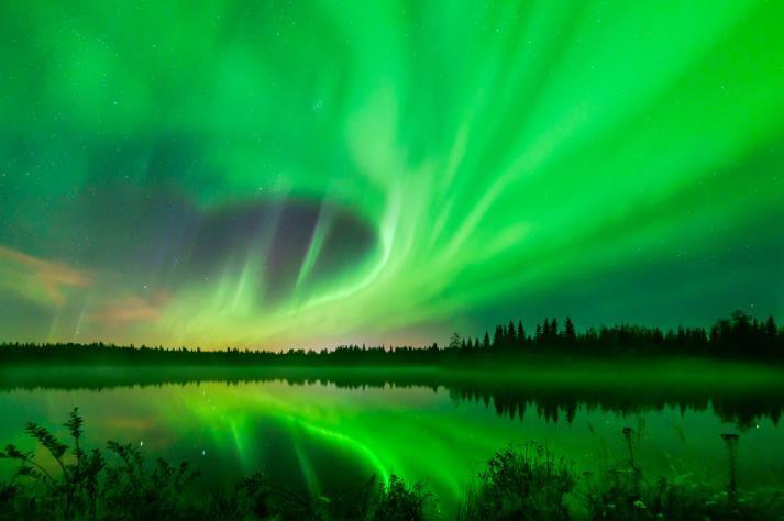 Alaska-Winter-Aurora