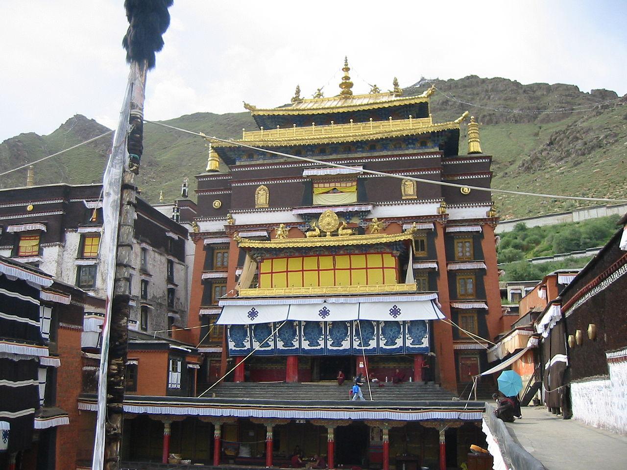 China-Tashilhunpo Monastery