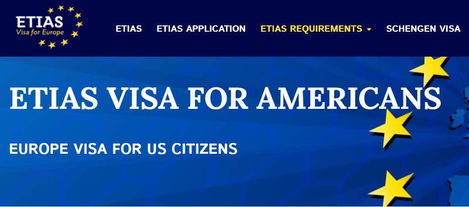 ETIAS VISA FOR AMERICANS