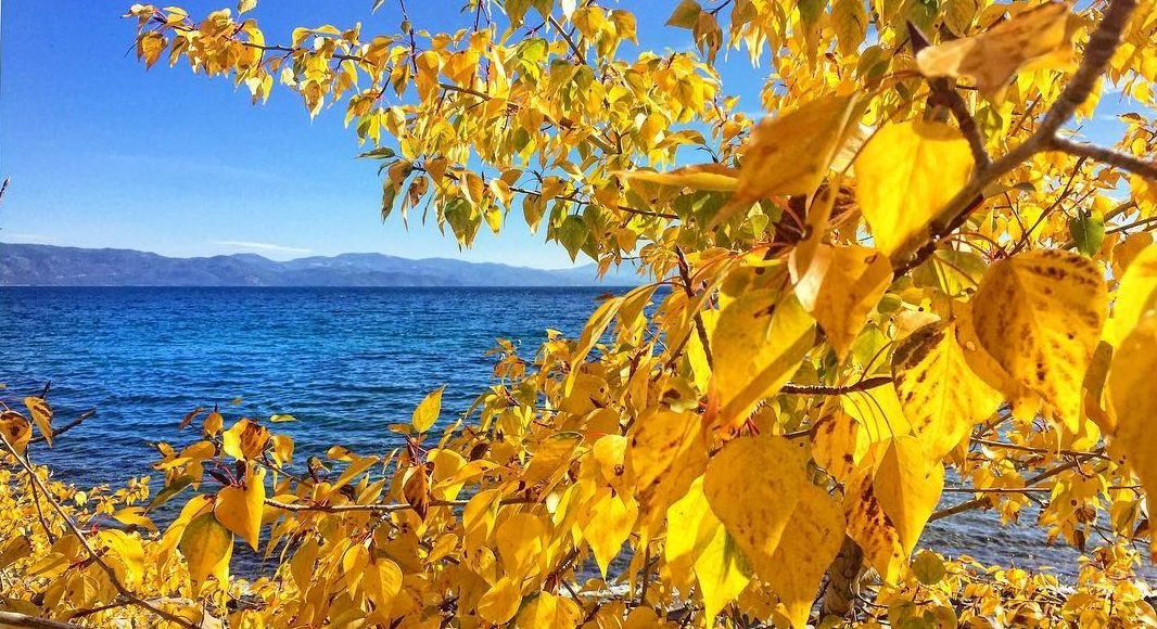 Lake Tahoe in Autumn