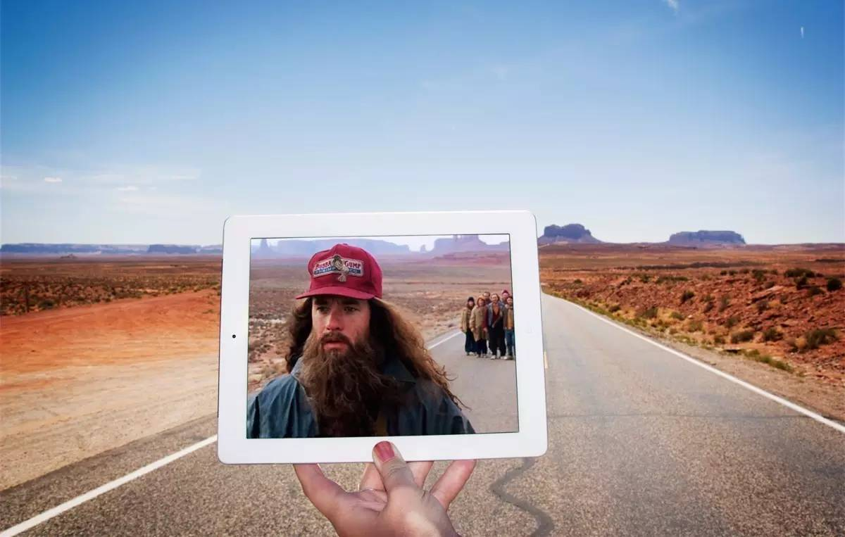 Monument Valley_Forrest Gump