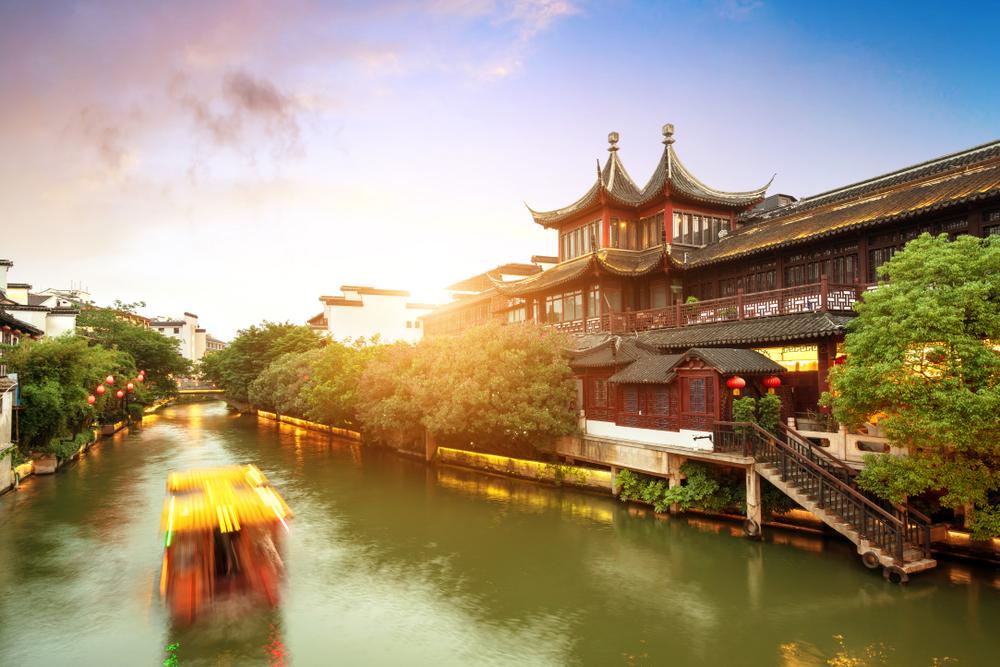 Nanjing-Qinhuai-River