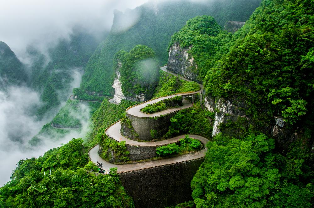 Tianmen-Zhangjiajie