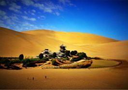 China_Crescent Lake_yueyaquan