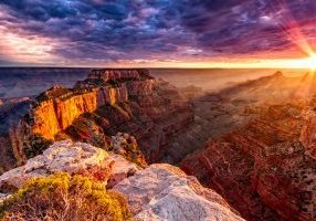 grand canyon west_sunrise